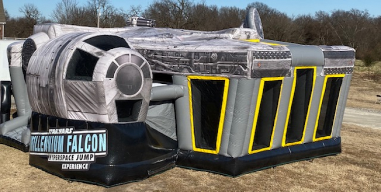 STAR WARS Millennium Falcon Hyperspace Jump Experience