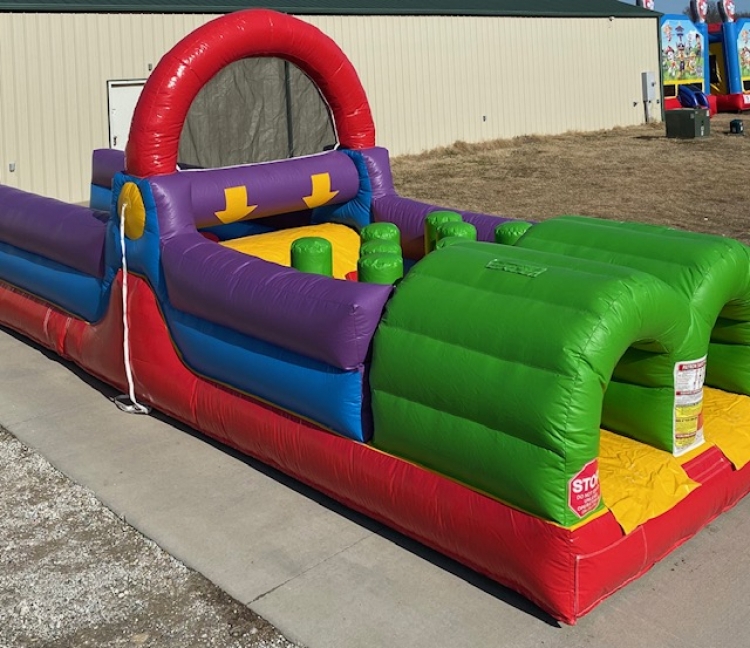 30ft Backyard Obstacle Course