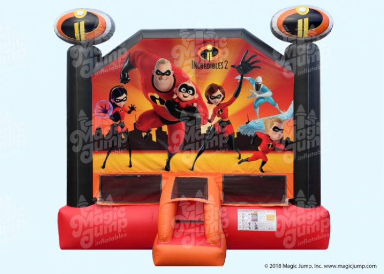Incredibles 2 Large Bounce House