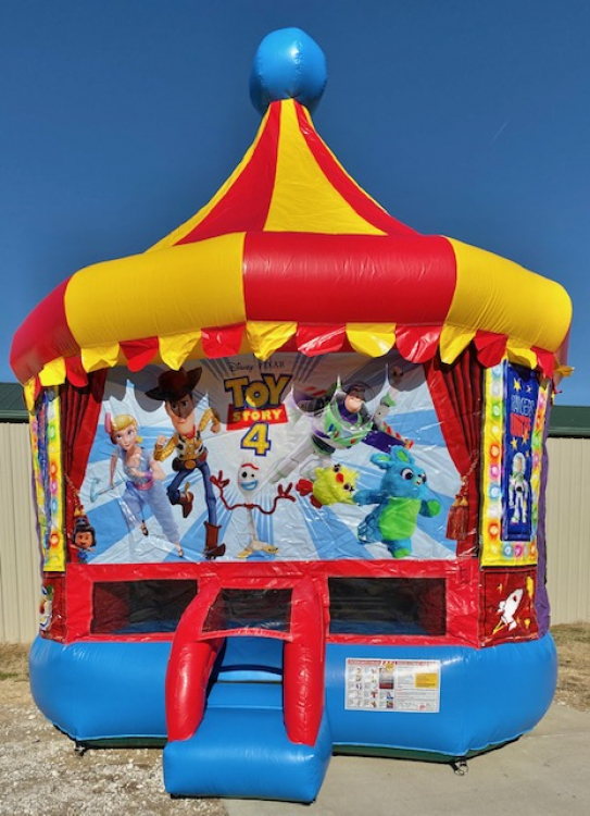 Toy Story 4 Bounce House