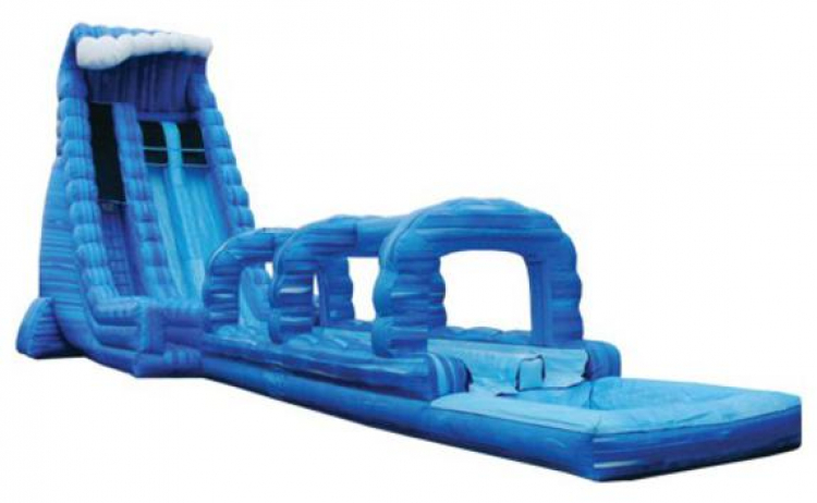 27ft Blue Crush Water Slide