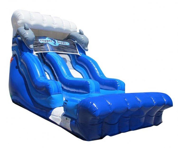 18ft Flipper Dipper Water Slide