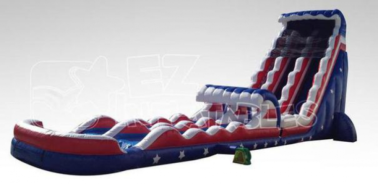 27ft Captain America Water Slide