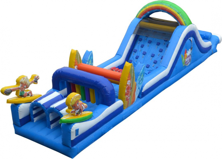 Surf's Up Obstacle Course (Dry)