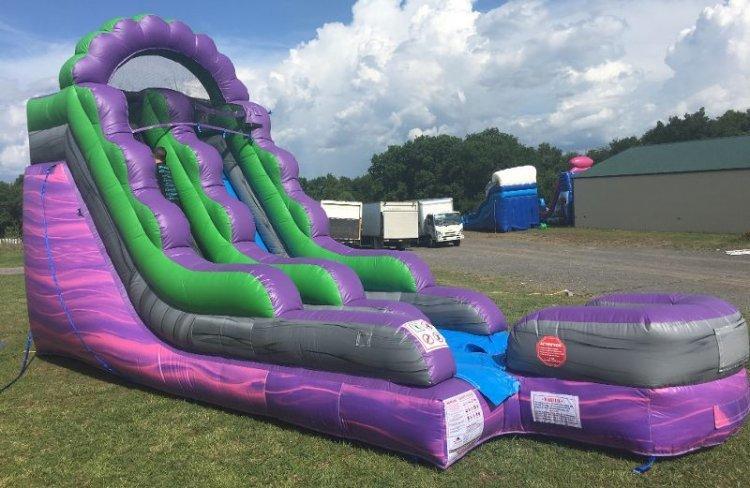 15ft Joker Soaker Water Slide