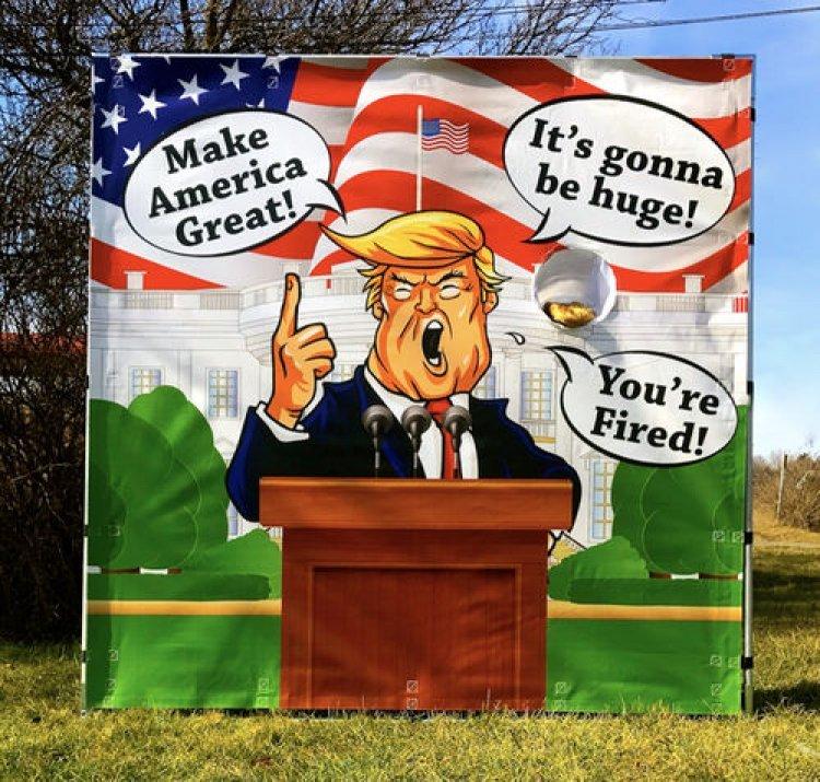 Trump Toss
