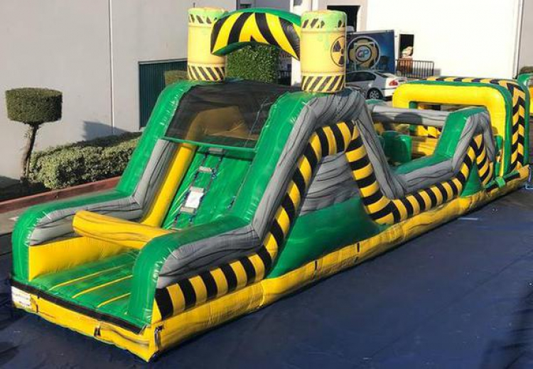40ft Toxic Obstacle Course