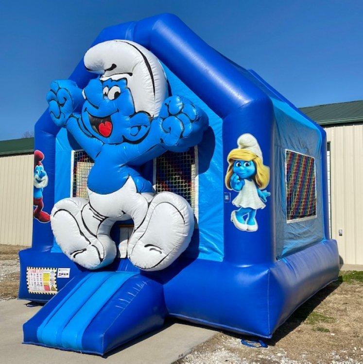 Smurf Bouncer