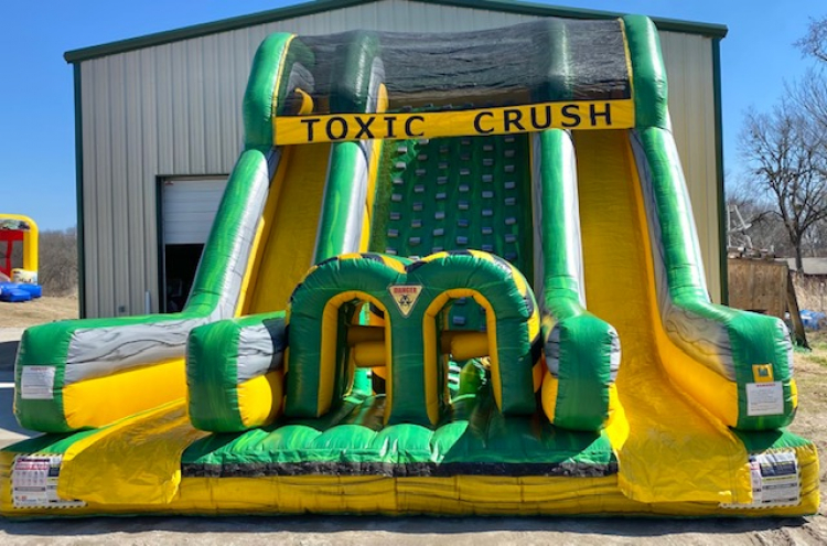 Toxic Crush Obstacle Course