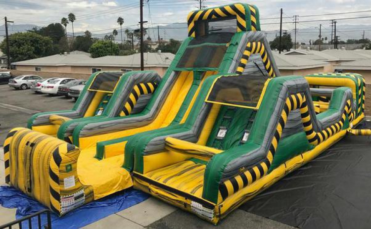 Danger Zone Challenge WATER Obstacle Course