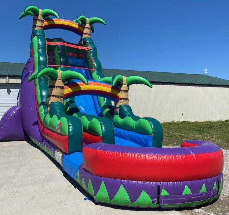 22ft Purple Paradise Water Slide